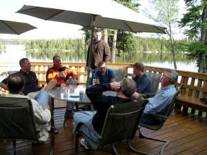 Lodge Lakefront Deck